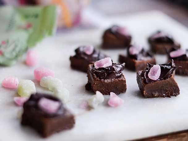 Sockerfri chokladfudge