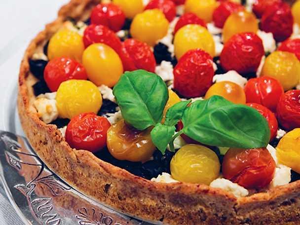Gula Koket : Sockerskorpans tomatpaj  Recept fron Koketse
