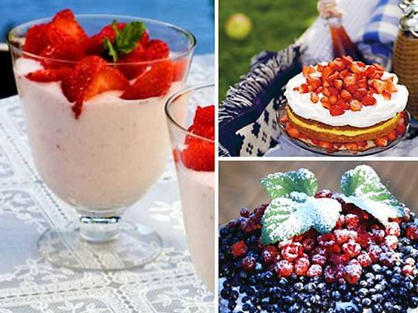 Sommarens söta desserter
