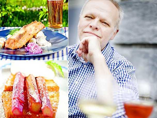 Sommarkväll med mat och vin artikelbild