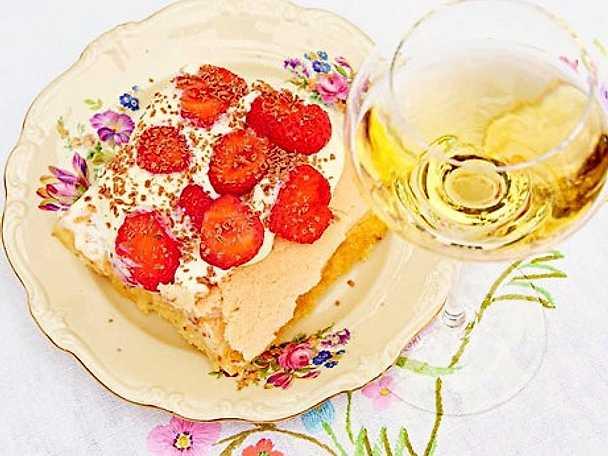sommartårta på elsas vis