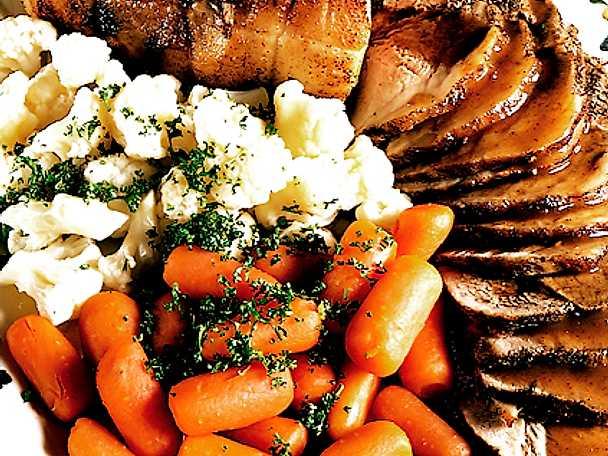Söndagsstek på skinka