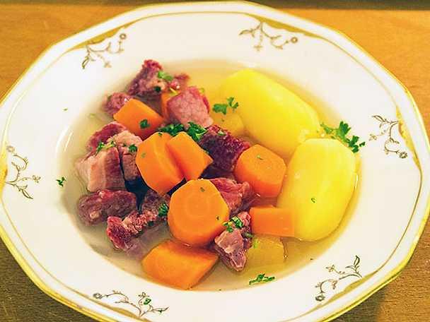 Söpäron, traditionell gryta från Orsa
