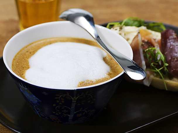 Soppa på Karljohansvamp