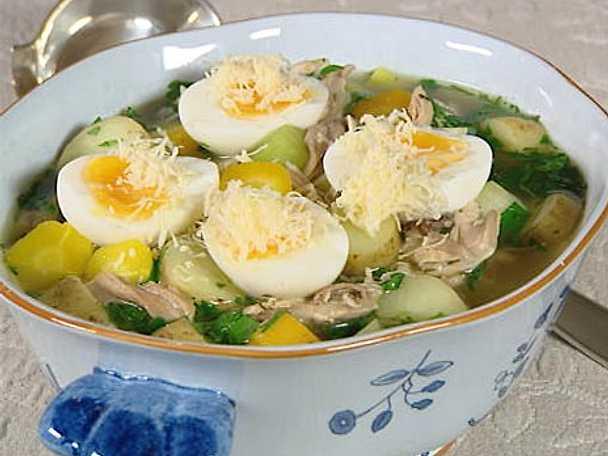 Soppa på kycklinglår