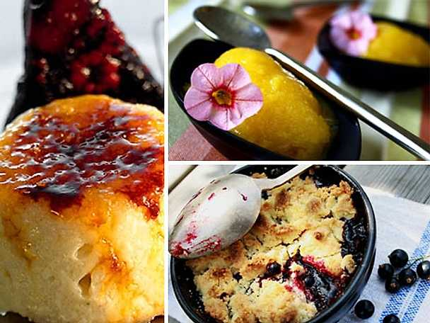 Söta laktosfria desserter