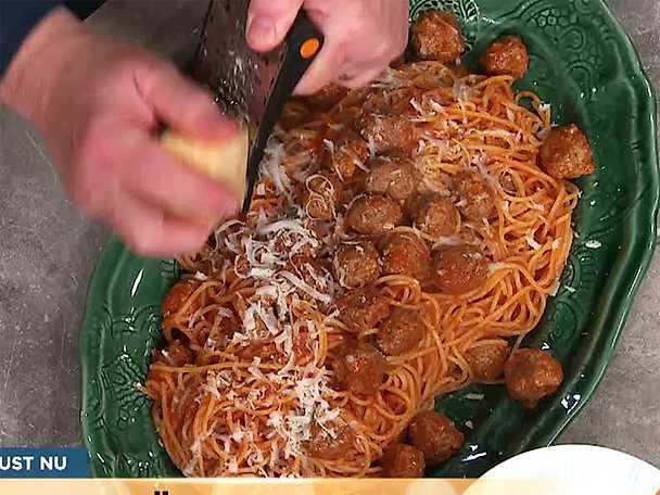 Spaghetti à la lady och lufsen