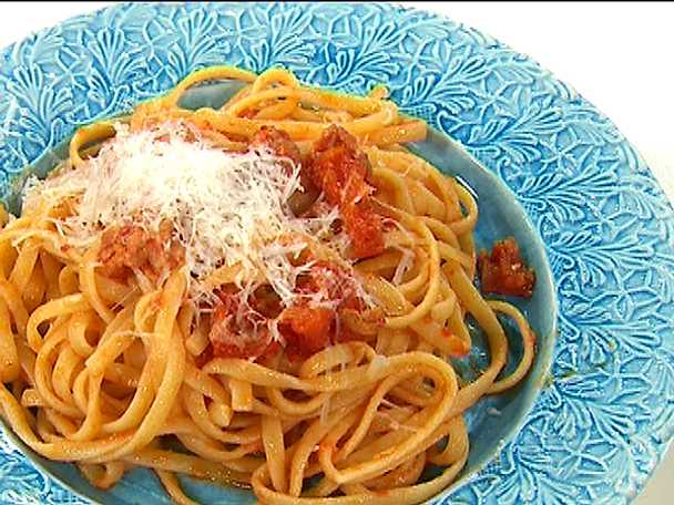 Spaghetti all´amatriciana