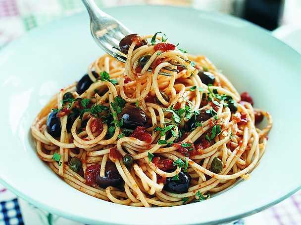 Ricetta degli spaghetti alla puttanesca