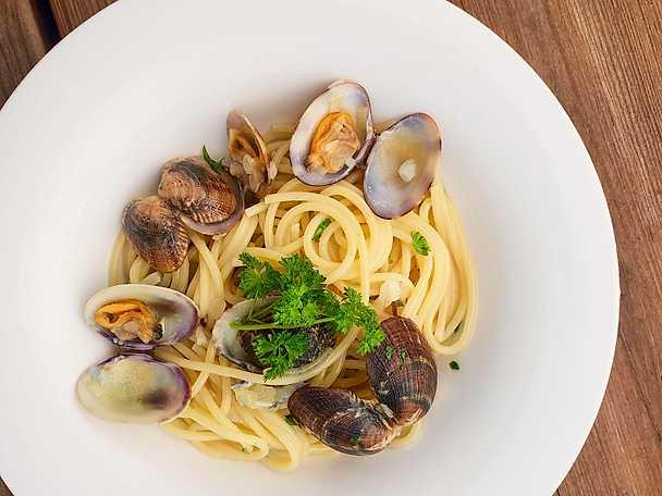 Spaghetti alle vongole - Dante Zias recept