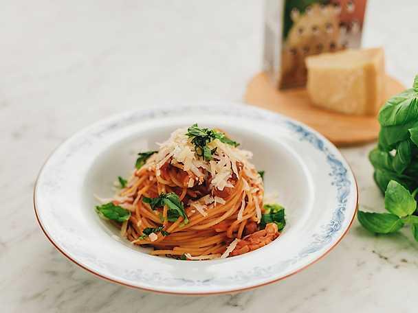 Spaghetti e fagioli NY