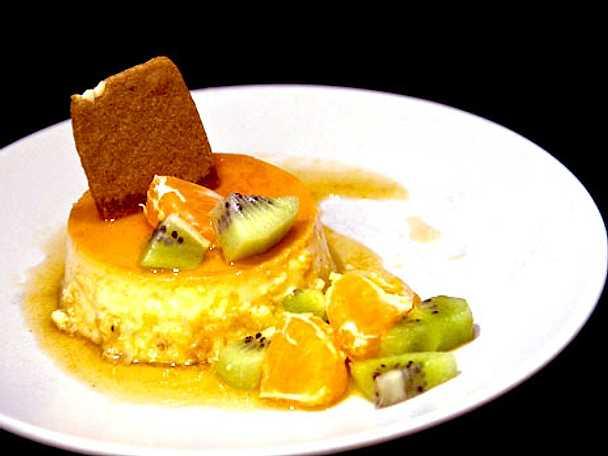 Spansk crème caramel på svenskt vis