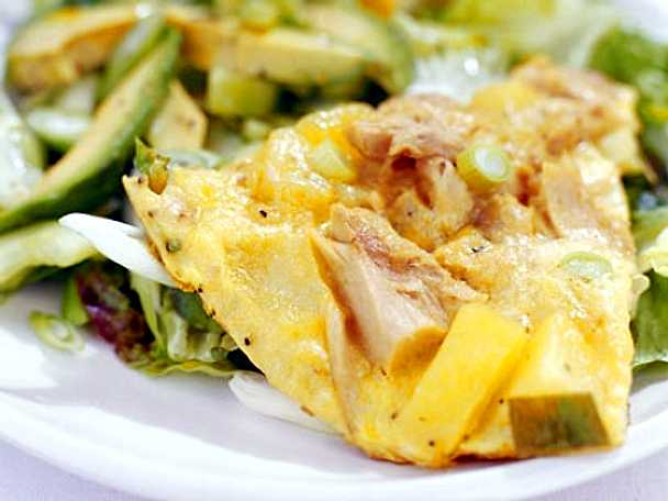 Spansk omelett – tortilla