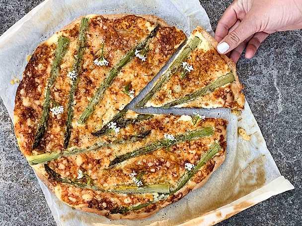 Sparrispizza