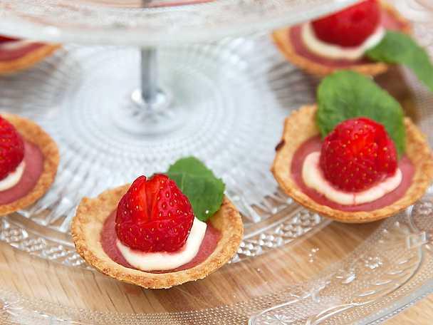 Spetsad jordgubbstartelett