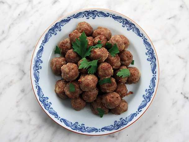 recept på köttbullar i ugn