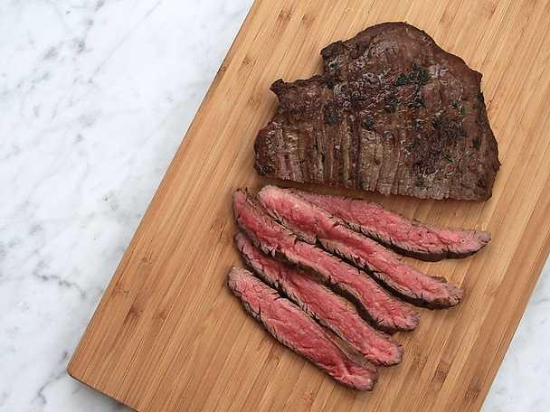 Steka och skära kött - se & gör