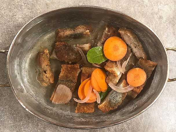 Stekt inlagd ättiksströmming - Stefano Catenaccis recept