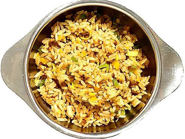 Stekt ris med grönsaker