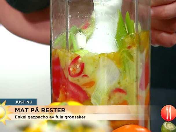 Svalkande gazpacho