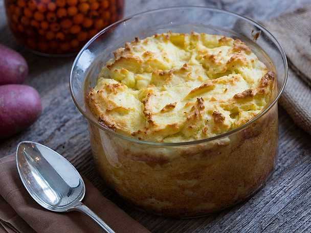 Svensk potatis Klassisk potatissufflé