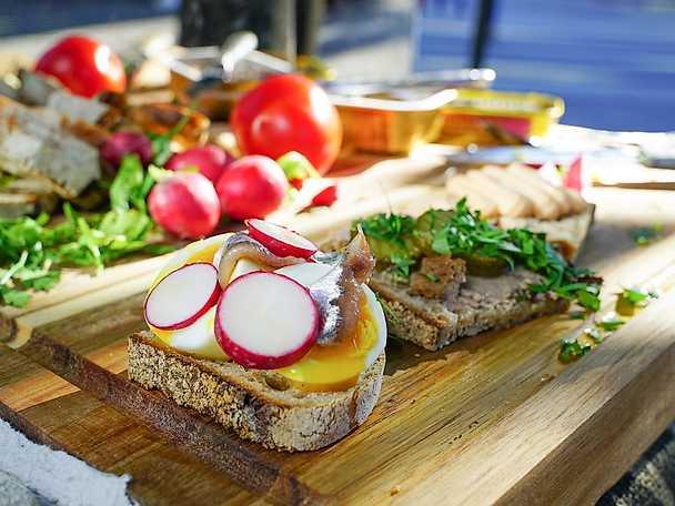 Svensk smörgåsfrukost