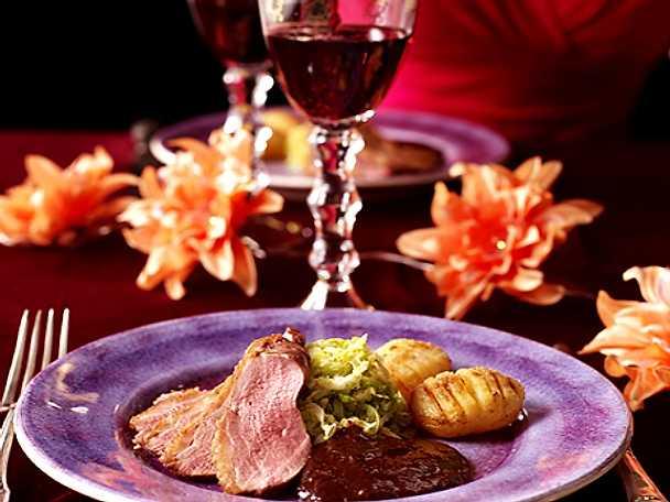 Sveriges mästerkock: romantisk middag
