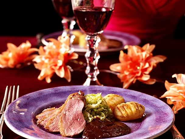 romantisk mat
