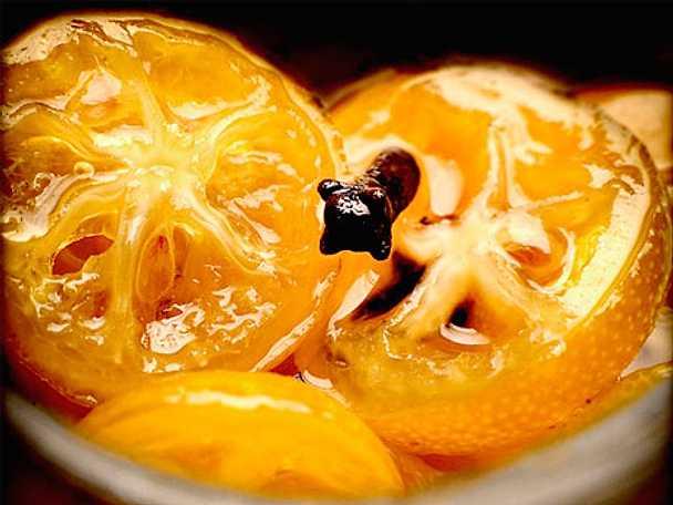 Syltade kumquats