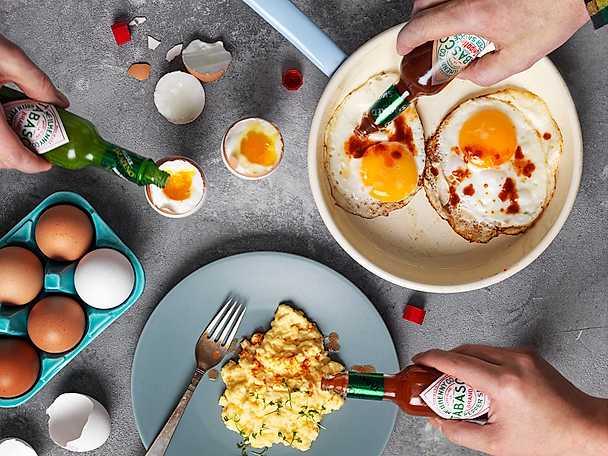 Tabasco äggtips
