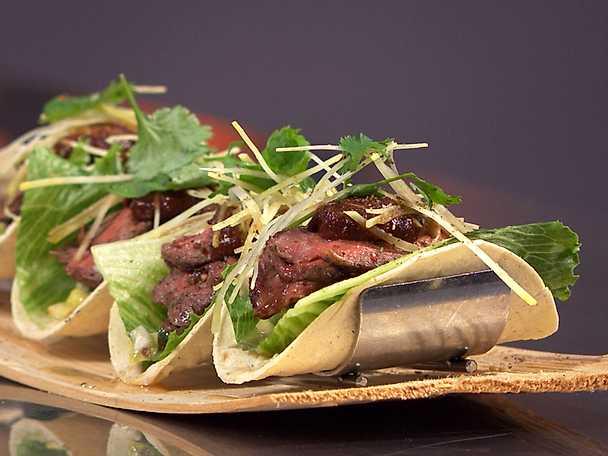 Taco fiesta med ryggbiff