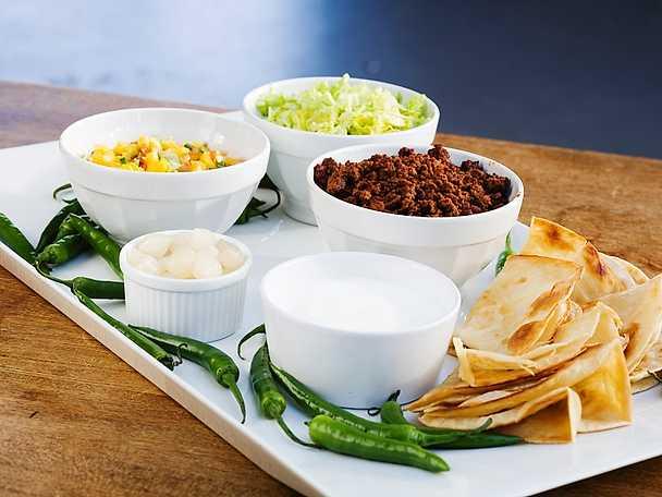 Taco med lammfärs