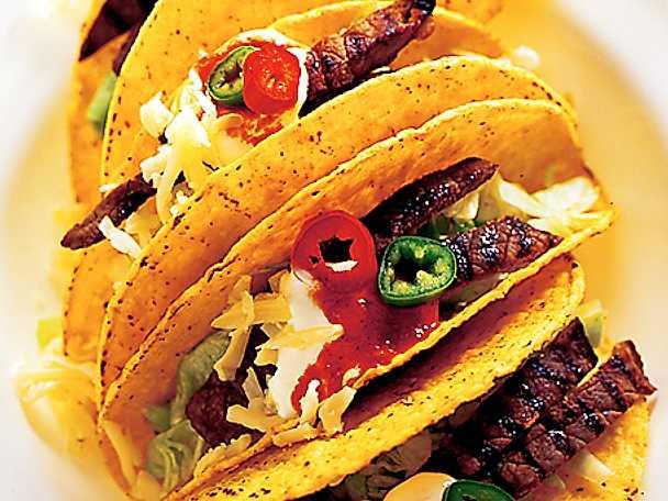 Tacofest på grillen