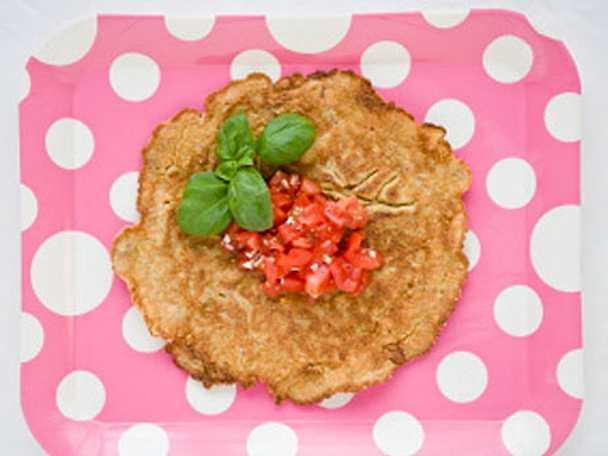 Tacopannkaka med tomatsalsa - pannkaka