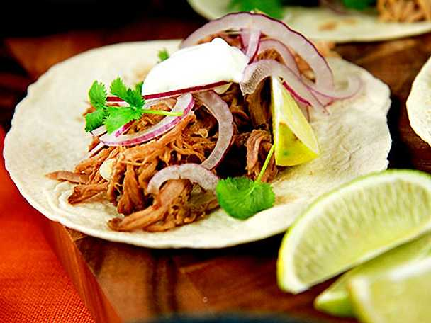 Tacos med pulled pork