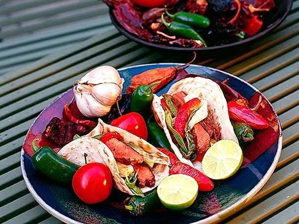 Tacos på grillen