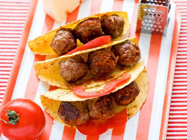 Tacostköttbullar