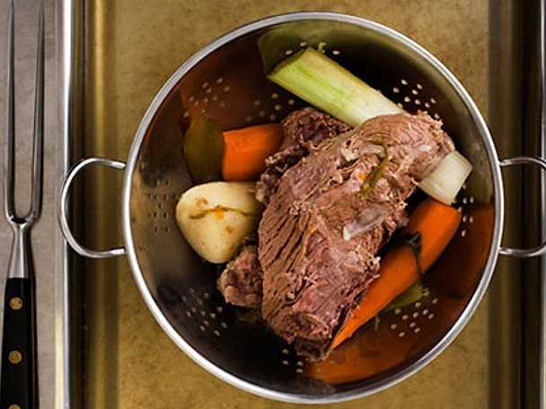 Tafelspitz – österrikiskt långkok på oxkött