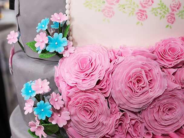 Tårta Manligt kvinnligt