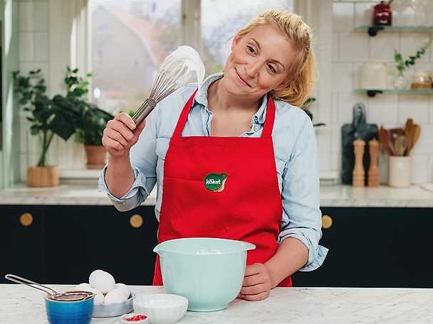 Tea Malmegård med marängvisp