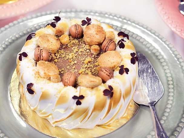 Tea tårtkurs maräng o klövertårta
