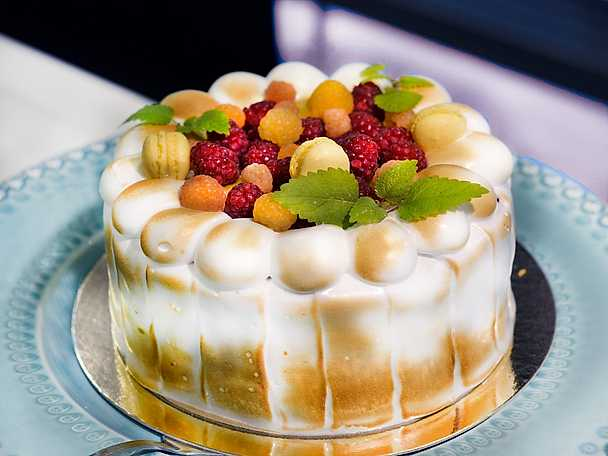 Tea tårtkurs marängtårta