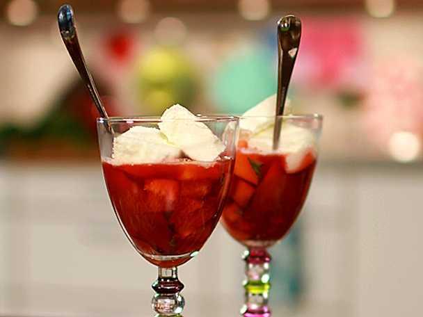 Teas fina fruktsallad
