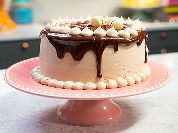 sockerpasta tårta recept