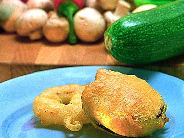Tempura på grönsaker