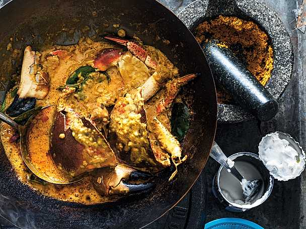 Thai crab curry