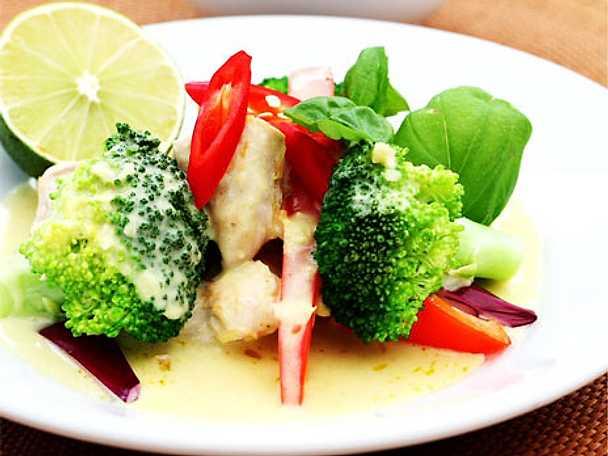 Thaigryta på kyckling