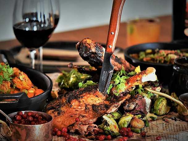 Thanksgiving-meny med confiterat kalkonlår - Marcus Samuelssons recept