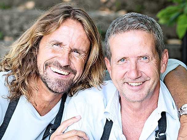 Anders och Martin Timell