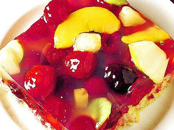 Tjeckisk frukttårta